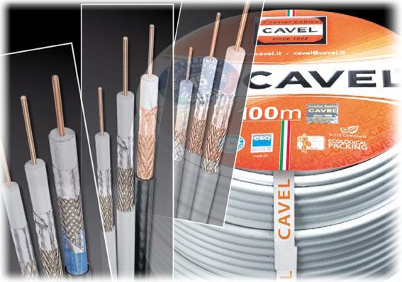 Kvalitetskoax från Cavel
